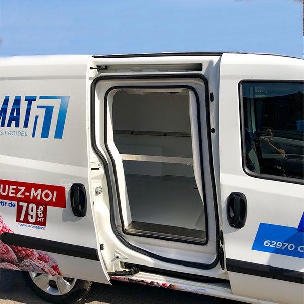 Fiat doblo SMAT location