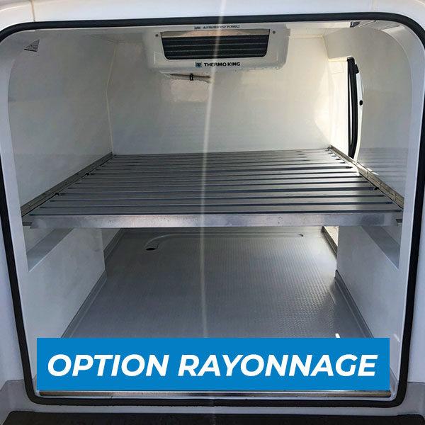 Option rayonnage Fiat doblo SMAT location