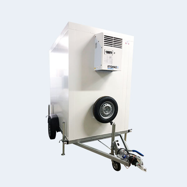 Remorque frigorifique 6m3 blanche