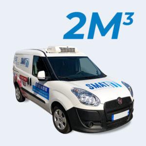 location camion fiat doblo frigorifique 2m3