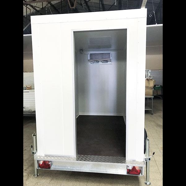 Remorque frigorifique 9m3 vue arrière