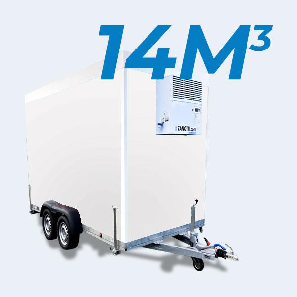 remorque frigorifique13m3