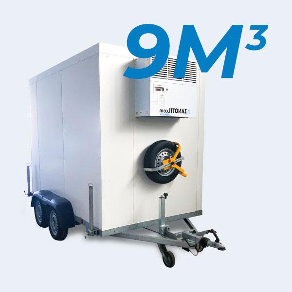 remorque frigorifique 9m3