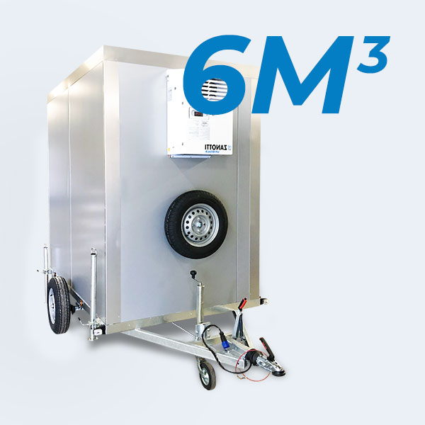 Remorque frigorifique 6m3 SMAT location